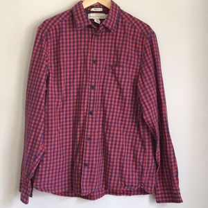Men's H&M checked Large